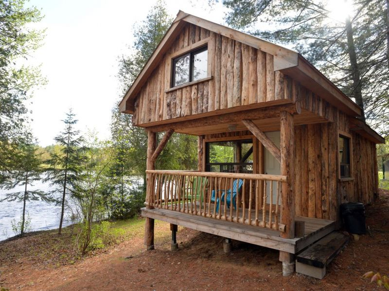 Log Cabin Cottages And Yurts On Bonnechere River