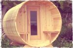 let off some steam in the lakeside barrel sauna