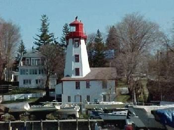Harbour House on Lake Huron