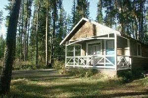 Johnston Canyon Cabins