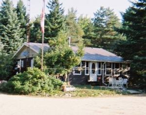 Bon Echo Cottage front