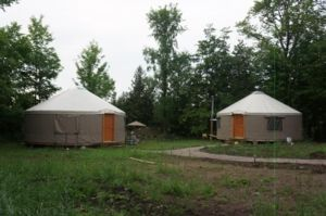 Ecofiest Yurts  on Kawartha Lakes