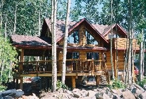 Luxury Log Retreat