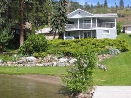 Lakefront Home on Skaha Lake