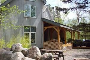 Timber Frame Lakefront Cottage