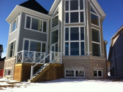 Blue mountain ski big new luxury waterfront house