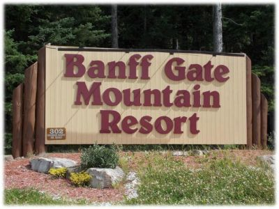 Banff Gate Mountain Resort Condo Rental