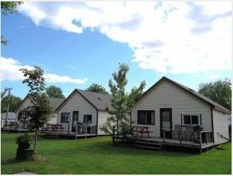 Silver Leaf Cottages in Bailieboro, Ontario on Rice Lake