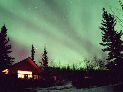 The NORTHERN LIGHTS CABIN-Fox Bay Retreat