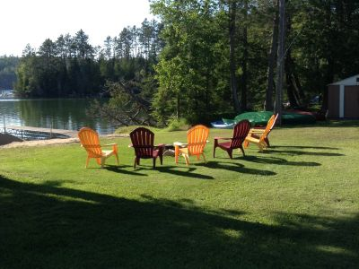 Relax at Plamer Rapids Cottage!