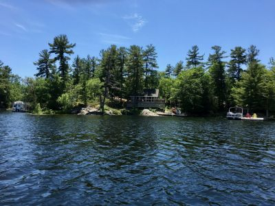 Cottage on Stoney Lake