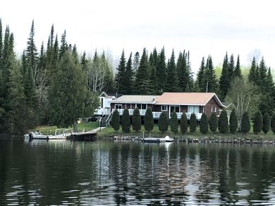 Lake Pivabiska Island Cottage