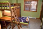 Second Bedroom, twin bunk beds