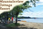 Beachfront Cottages on Beautiful Golden Lake