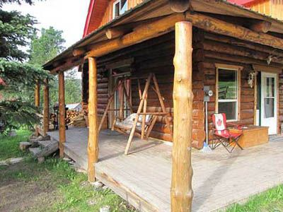 Log Cabin Rentals in Kananaskis