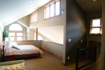 Boathouse - Loft Bedroom with Walk-in Closet - Queen Bed & Day Bed w/Trundle Bed