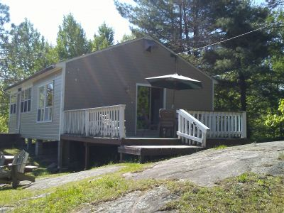 Very private cottage with full outdoor amenities for enjoying outdoor cooking and relaxing.